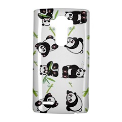 Panda Tile Cute Pattern Lg G4 Hardshell Case