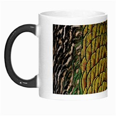 Colorful Iridescent Feather Bird Color Peacock Morph Mugs