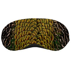 Colorful Iridescent Feather Bird Color Peacock Sleeping Masks