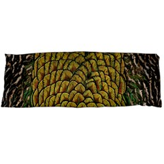 Colorful Iridescent Feather Bird Color Peacock Body Pillow Case (dakimakura)