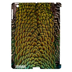 Colorful Iridescent Feather Bird Color Peacock Apple Ipad 3/4 Hardshell Case (compatible With Smart Cover)