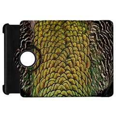 Colorful Iridescent Feather Bird Color Peacock Kindle Fire Hd 7