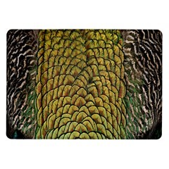 Colorful Iridescent Feather Bird Color Peacock Samsung Galaxy Tab 10 1  P7500 Flip Case
