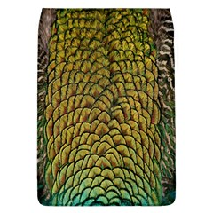 Colorful Iridescent Feather Bird Color Peacock Flap Covers (l)