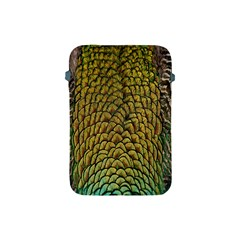 Colorful Iridescent Feather Bird Color Peacock Apple Ipad Mini Protective Soft Cases