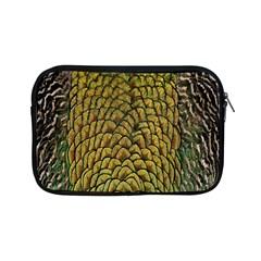 Colorful Iridescent Feather Bird Color Peacock Apple iPad Mini Zipper Cases