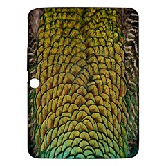 Colorful Iridescent Feather Bird Color Peacock Samsung Galaxy Tab 3 (10.1 ) P5200 Hardshell Case