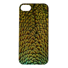 Colorful Iridescent Feather Bird Color Peacock Apple Iphone 5s/ Se Hardshell Case