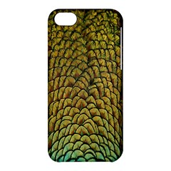 Colorful Iridescent Feather Bird Color Peacock Apple Iphone 5c Hardshell Case