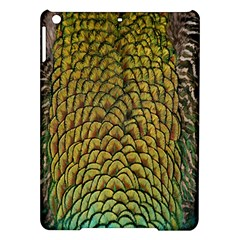 Colorful Iridescent Feather Bird Color Peacock Ipad Air Hardshell Cases
