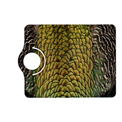 Colorful Iridescent Feather Bird Color Peacock Kindle Fire Hd (2013) Flip 360 Case