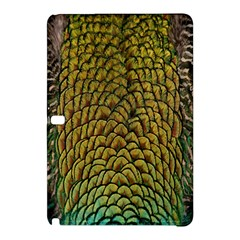 Colorful Iridescent Feather Bird Color Peacock Samsung Galaxy Tab Pro 10 1 Hardshell Case