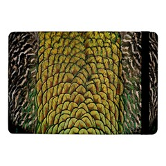 Colorful Iridescent Feather Bird Color Peacock Samsung Galaxy Tab Pro 10 1  Flip Case
