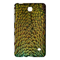 Colorful Iridescent Feather Bird Color Peacock Samsung Galaxy Tab 4 (7 ) Hardshell Case