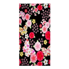 Flower Arrangements Season Rose Butterfly Floral Pink Red Yellow Shower Curtain 36  x 72  (Stall)