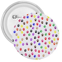 Paw Prints Background 3  Buttons