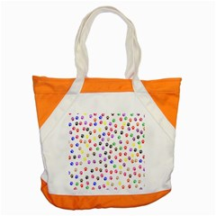 Paw Prints Background Accent Tote Bag