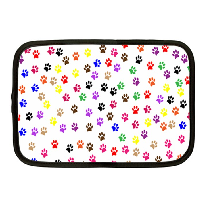 Paw Prints Background Netbook Case (Medium)