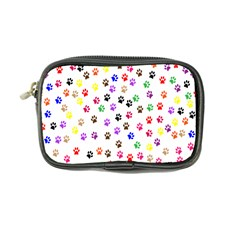 Paw Prints Background Coin Purse