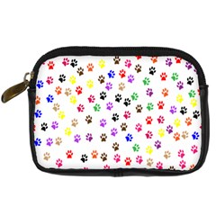 Paw Prints Background Digital Camera Cases