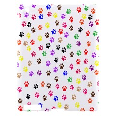 Paw Prints Background Apple Ipad 3/4 Hardshell Case