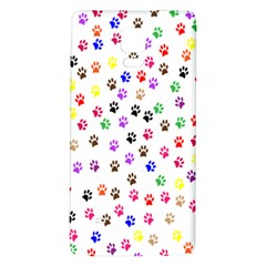 Paw Prints Background Galaxy Note 4 Back Case