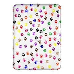 Paw Prints Background Samsung Galaxy Tab 4 (10 1 ) Hardshell Case