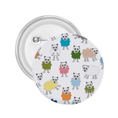 Sheep Cartoon Colorful 2 25  Buttons