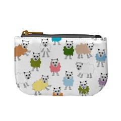 Sheep Cartoon Colorful Mini Coin Purses
