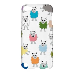 Sheep Cartoon Colorful Apple Ipod Touch 5 Hardshell Case
