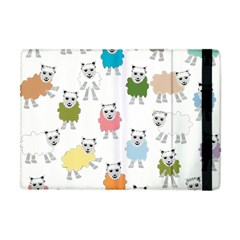 Sheep Cartoon Colorful Apple Ipad Mini Flip Case
