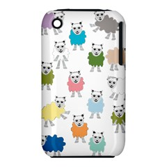 Sheep Cartoon Colorful Iphone 3s/3gs
