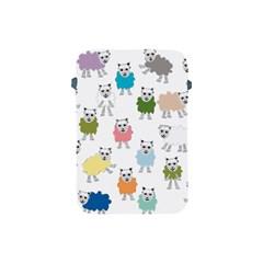 Sheep Cartoon Colorful Apple Ipad Mini Protective Soft Cases