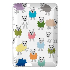 Sheep Cartoon Colorful Kindle Fire Hdx Hardshell Case