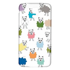 Sheep Cartoon Colorful Samsung Galaxy S5 Back Case (white)