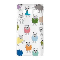 Sheep Cartoon Colorful Samsung Galaxy A5 Hardshell Case