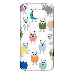 Sheep Cartoon Colorful Galaxy S6