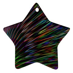 Texture Colorful Abstract Pattern Ornament (Star)