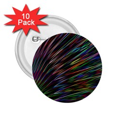 Texture Colorful Abstract Pattern 2.25  Buttons (10 pack)