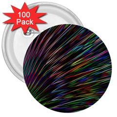 Texture Colorful Abstract Pattern 3  Buttons (100 Pack)