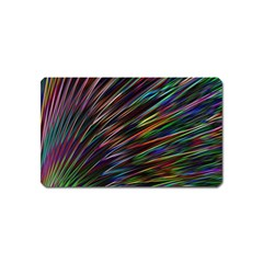Texture Colorful Abstract Pattern Magnet (name Card)