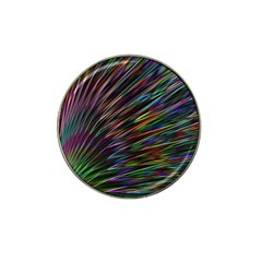 Texture Colorful Abstract Pattern Hat Clip Ball Marker (4 Pack)