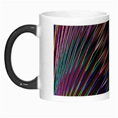 Texture Colorful Abstract Pattern Morph Mugs