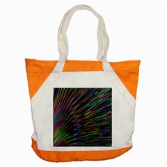 Texture Colorful Abstract Pattern Accent Tote Bag
