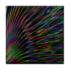 Texture Colorful Abstract Pattern Face Towel