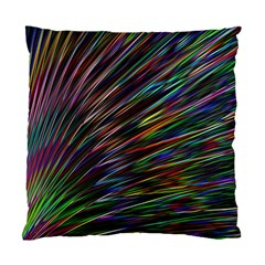 Texture Colorful Abstract Pattern Standard Cushion Case (one Side)
