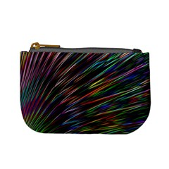 Texture Colorful Abstract Pattern Mini Coin Purses