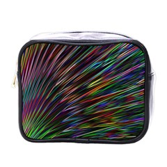 Texture Colorful Abstract Pattern Mini Toiletries Bags