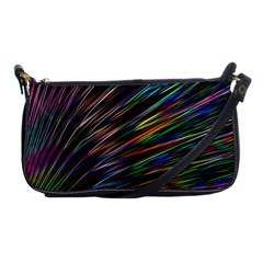 Texture Colorful Abstract Pattern Shoulder Clutch Bags