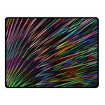 Texture Colorful Abstract Pattern Fleece Blanket (Small) 50 x40 Blanket Front
